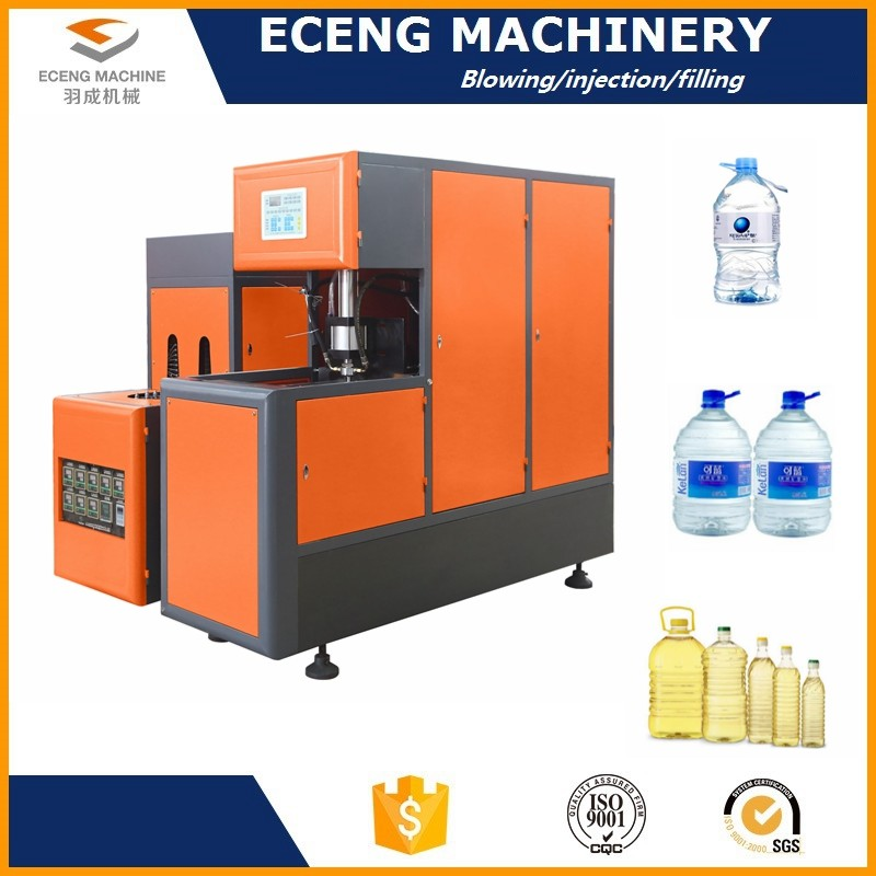 Smart High Speed Semi Auto Blowing Machine With Articulated Refueling Devices