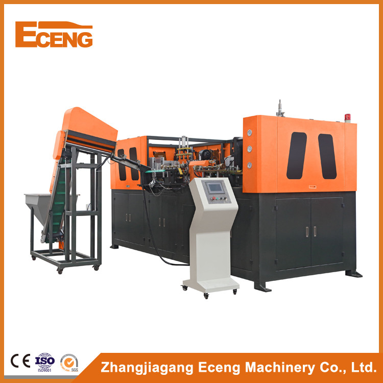 Easy Maintance Bottle Blow Molding Machine With Automatic Lubrication Oil Device