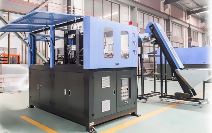 Anti - Vibration Structure Automatic Blowing Machine To Make Plastic Bottles