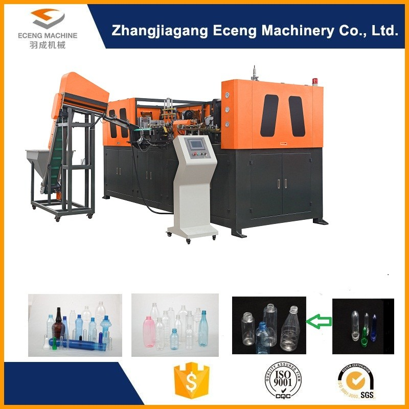High Speed Automatic Blowing Machine With Human - Machine Interface Touch Screen